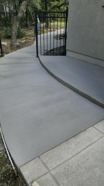 Concrete Forms Photos   Texas Premier Coat Resurfacing